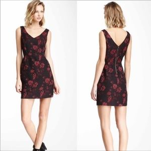 Jack Black and Red Bowie Abstract Floral Dress
